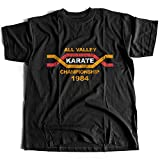 9347 all Valley Mens T-Shirt Bonsai Tree Karate Miyagi Cobra Kid Arts The Tournament Sweep Kung-Fu Kai Do Leg Martial(Large,Black)