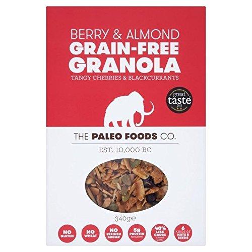 Paleo Food Company Il Alimenti Paleo Co Bacca E Mandorle Senza Cereali Muesli 340g (Confezione da 6)