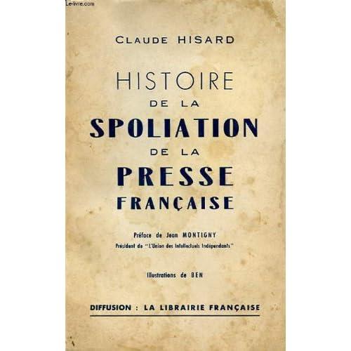 Histoire de la spoliation de la presse francaise