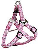Trixie Modern Art Geschirr Rose, M: 50–65 cm/20 mm, pink