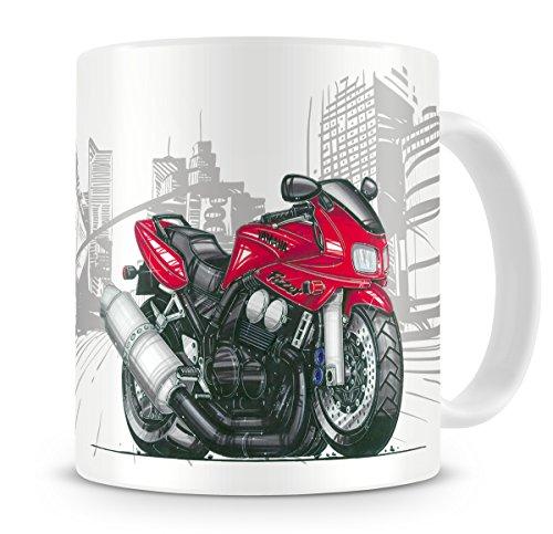 Caricature Cartoon Fazer Red Of Koolart Bike Coffee Yamaha 600 Mug Classicretro ZiukPX