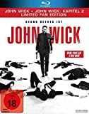 John Wick + John Wick: Kapitel 2 – Limited Fan Edition (2 Blu-rays in veredelter O-Card)