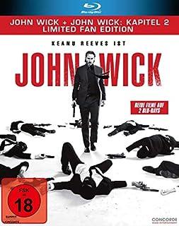 John Wick + John Wick: Kapitel 2 - Limited Fan Edition (2 Blu-rays in veredelter O-Card)