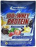 IronMaxx 100% Whey Protein – Whey Proteinpulver Schokolade auf Wasserbasis – Eiweißpulver für Eiweißshake mit Milchschokoladen Geschmack – 1 x 2,35 kg Beutel
