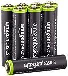 AmazonBasics - Juego de 8 pilas recargab...