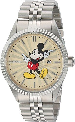 7eca14824a29 Invicta 22769 Disney Limited Edition - Mickey Mouse Reloj para Hombre Acero  Inoxidable Cuarzo Esfera champán de Invicta