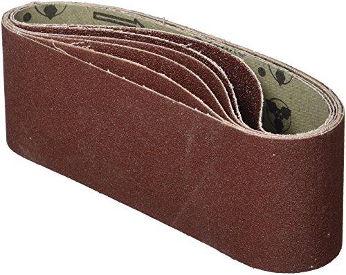 Fartools 00644 Lot de 5 Bandes abrasives 533 x 75 mm