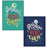 Elena favilli good night stories for rebel girls 1 & 2 collection 2 books set