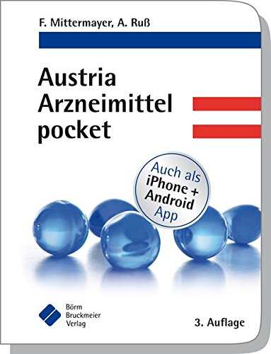 Austria Arzneimittel pocket - Positiven Pocket Book Der