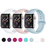 Zekapu Sport Correa para Apple Watch Correa 38mm 42mm 40mm 44mm, Pulsera de...