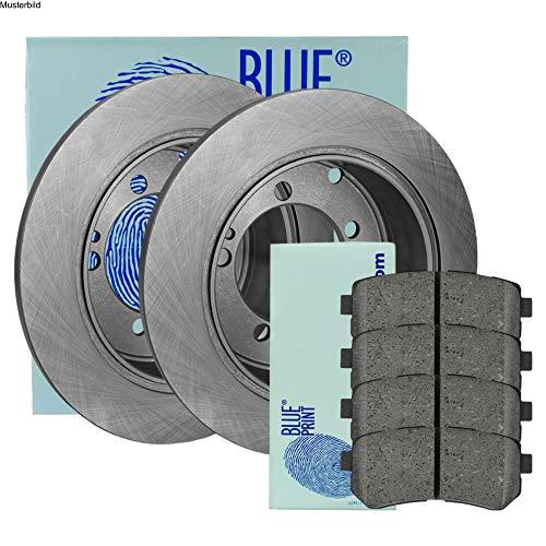 Preisvergleich Produktbild BLUE PRINT BREMSSCHEIBEN Ø262 mm + BREMSBELÄGE SET HINTEN