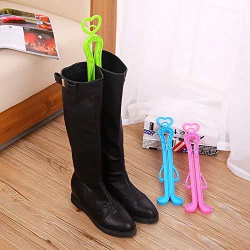 SISHUINIANHUA Kunststoff Lange Stiefel Unterstützung Creative Home Praktische Schuhe Unterstützung Herbst und Winter Stiefel Former Supporter Shaft Keeper (Stiefel Unterstützung Winter)
