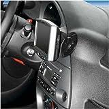 KUDA console pour navigateur gPS &streetKa ford ka modèles à partir de 2005, en cuir synthétique (noir)