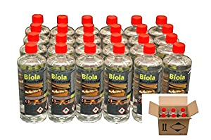 BIOETHANOL FUEL 30L DEAL BIOLA FREE DELIVERY UK & IRELAND. For use in fires & stoves.