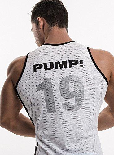 PUMP!-Canottiera classica 19 Bianco