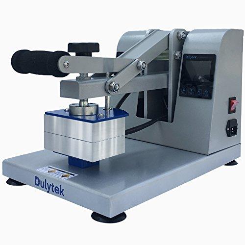 Presse à Colophane Manuelle Dulytek DM1005 Pour L'extraction D'huile Sans Solvant - Plaques Chauffantes Doubles de 76 x 127 mm