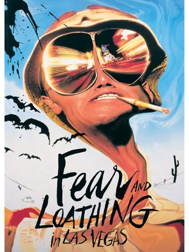 Empire 205346 Fear and Loathing in Las Vegas - Benicio Del Toro, Film Poster ca. 91,5 x 61 cm