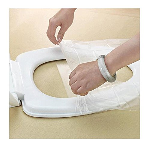 TXIN 20 Stücke Reise Einweg Toilette Sitz Abdeckung Antibakteriell Wasserdicht Toilleten Sitz Pad Unabhängig Verpackung