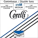 Corde Corelli per contrabbasso Set orchestra 'Strong' '4/4 e 3/4;Re tungsteno;' '4/4 e 3/4;Re tungsteno;'