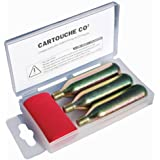 Cartouches CO2 pour kit de réparation Tecnoglobe NEUF
