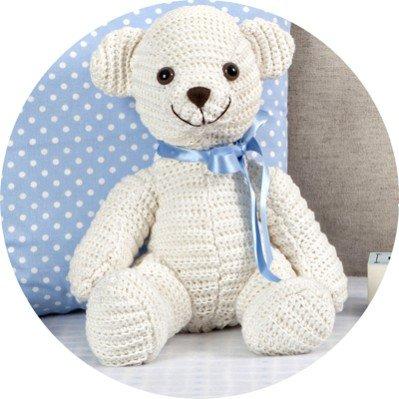 Teddy Bear Rattle | Patterns | - Hobbii.com | 399x399