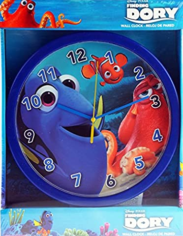 Disney Finding Dory Boys Or Girls Bedroom Wall Clock
