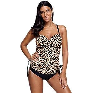 BOYANN Tankini 2pcs Costumi da Bagno Donna Taglie Forti 1 spesavip