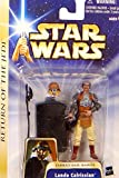 "Lando Calrissian Jabba`s Sail Barge ""Return of the Jedi"" Figur No.07 - Star Wars Saga Collection 2002-2004 von Hasbro"