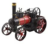 Dampftraktor Dekoration Traktor Dampfmaschine Dampfpflug Modell Antik-Stil 30cm