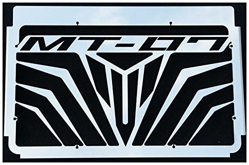 Grillage Anti gravillon Noir Cache radiateur//Grille de radiateur MT-07 Tous mill/ésimes Noir Mat Design Logo