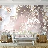 Fototapete Orchidee 352 x 250 cm - Vliestapete - Wandtapete - Vlies Phototapete - Wand - Wandbilder XXL - !!! 100% MADE IN GERMANY !!! Runa Tapete 9076011a