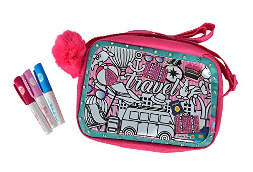 (Simba 106374182 - Color Me Mine Glitter Couture Travel Bag)