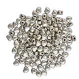 100pcs 5mm Tibetanische Silberne Herz Spacer Perlen Schmuck Entdeckungen Machen Handwerk