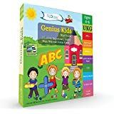 Genius Kids Worksheets for Ukg - Set of 8 Workbooks for UKG, KG-2 and Montessori (4-6 yrs) - Math & Logic, English, Science, Games & Activities