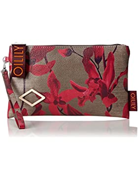 Oilily Damen Jolly Cosmeticpouch Mhz 4 Clutch, Rot (Dark Red), 1 x 13.5 x 23.5 cm