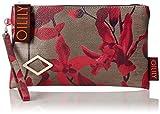 Oilily Damen Jolly Cosmeticpouch Mhz 4 Clutch, Rot (Dark Red), 1x13.5x23.5 cm