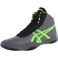 Zapatillas de lucha Matflex 5 para hombre, Negro / Plateado, 12.5 M US