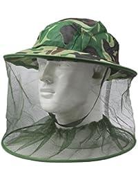 Chapeau avec filet anti-moustique