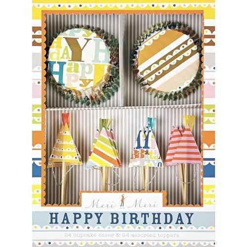Happy Birthday Cupcake Kit -