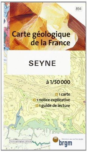 Carte géologique : Seyne
