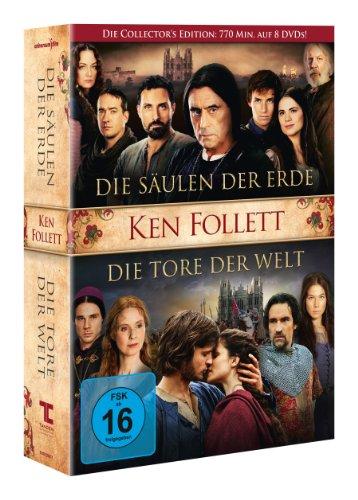 Die Säulen der Erde / Die Tore der Welt [8 DVDs]