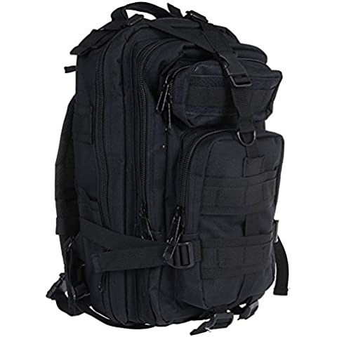 Raydou 35L Molle Military Army Bag Tactical Rucksack Backpack for Duffel Camping Hiking Trekking Black