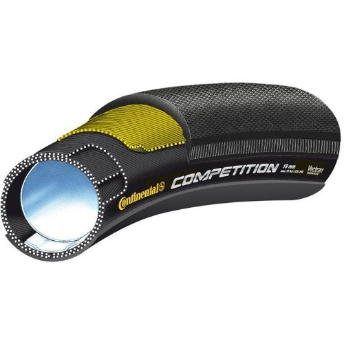 CONTINENTAL COMPETITION 0196140   NEUMATICO TUBULAR  COLOR NEGRO  TALLA 26 X 19 MM