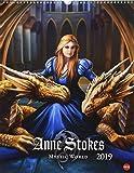 Anne Stokes Mystic World Posterkalender - Kalender 2019