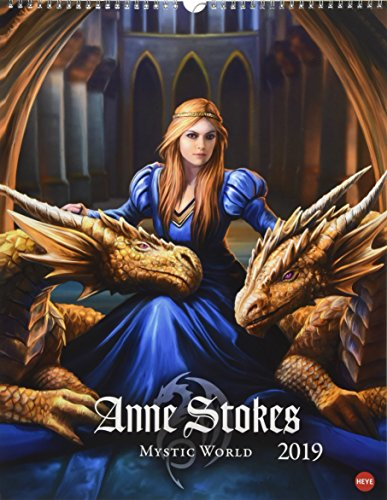 Anne Stokes Mystic World Posterkalender - Kalender 2019 -