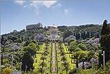 Posterlounge Alu Dibond 180 x 120 cm: Bahai Gardens, Haifa di Yadid Levy/Robert Harding