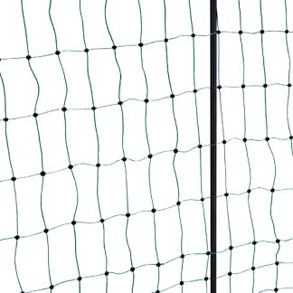 Kerbl Poultry Net Double Prong Electrifiable, 25 m/ 112 cm, Green 8