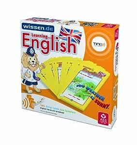 TING Quizfächer Learning English: 54 Blatt, inkl. Navigationsscheibe und Spielregeln
