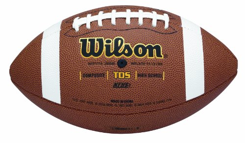 WILSON TDS Composite High School Spielball, Football