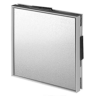 Magnetic Access Panel 200mm x 200mm Tile Control Hatch Bath Tiled Inspection Door Bathroom Kitchen Service Point Caches Locks MPCV4